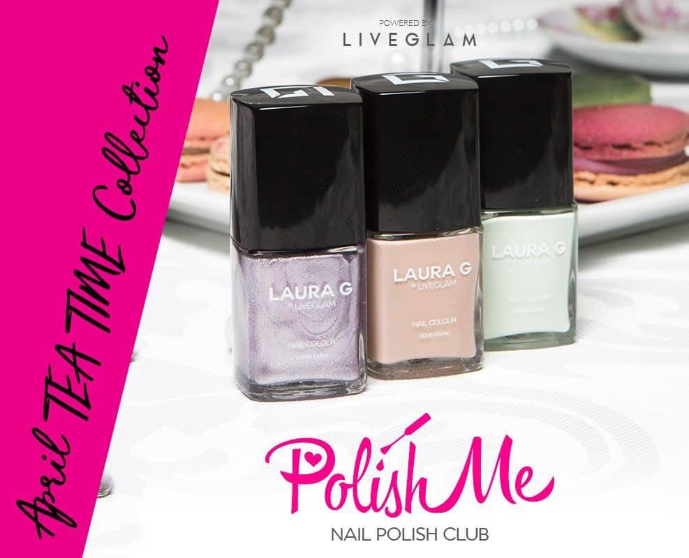 LiveGlam PolishMe Club Nail Polish Subscription Box