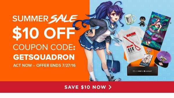 Loot Anime Coupon $10 Off New Loot Anime Subscriptions