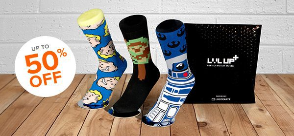 Try Loot Socks for $5 - Loot Socks 50% Off Coupon