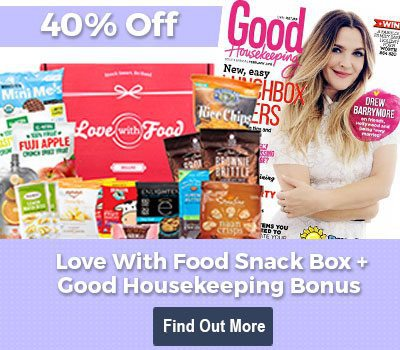 Love With Food 40% Off Deluxe Box + Free Good Housekeeping