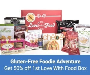 Half Off Your 1st Love With Food Gluten-Free Snack Box