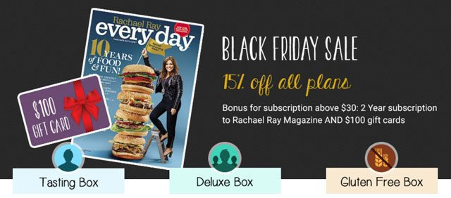 Love With Food Black Friday - Save 15% Off All Love With Food Subscriptions