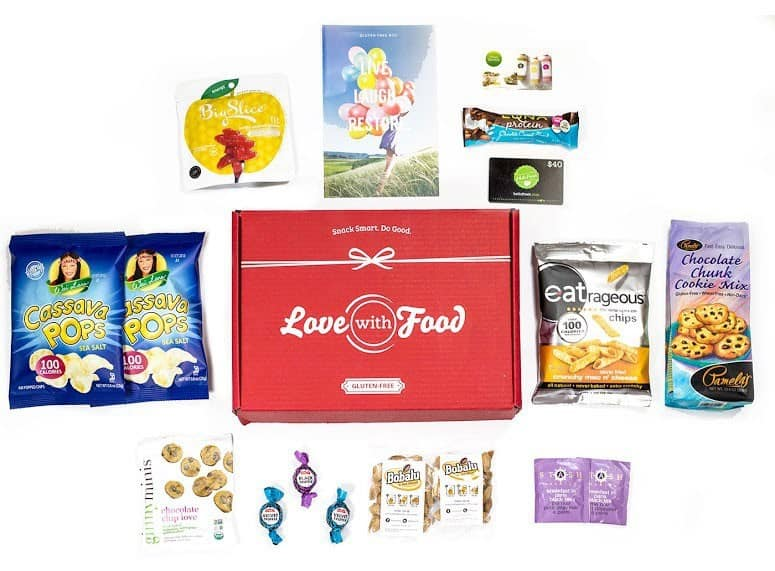 Love With Food Gluten Free Box
