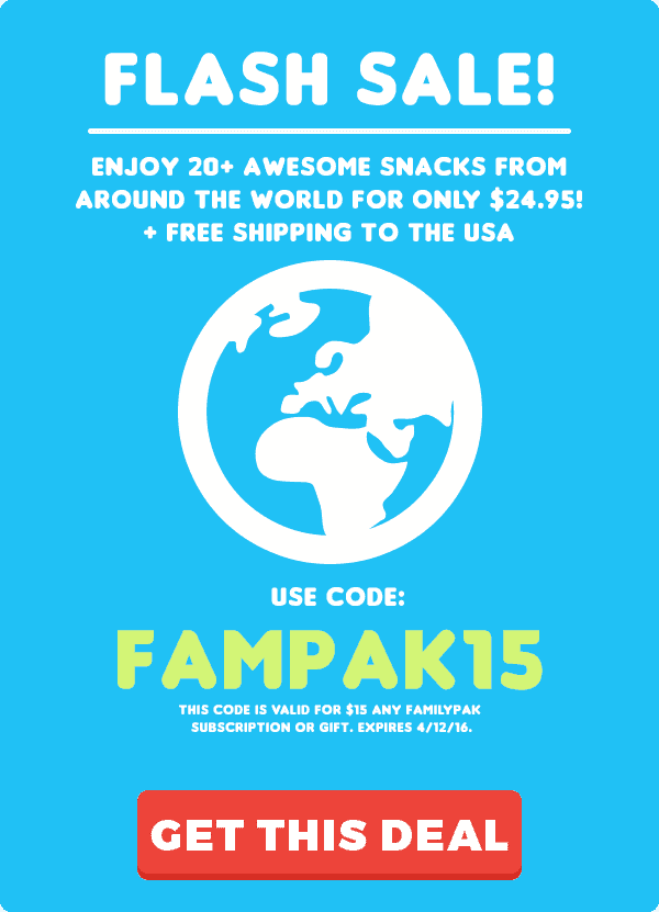 MunchPak Coupon - Save $15 Off Your 1st FamilyPak