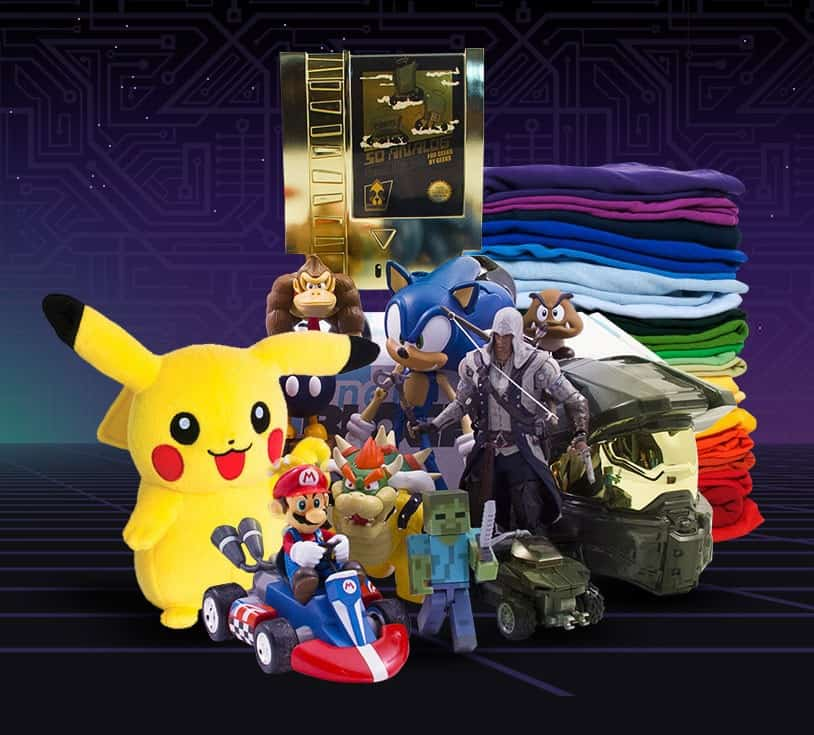 Nerd Block Arcade Block Video Game Subscription Box