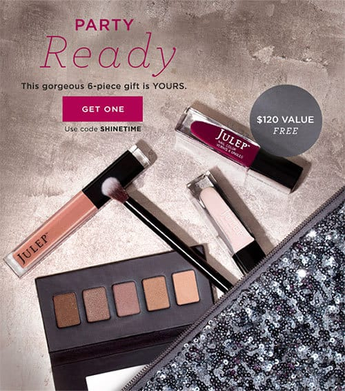 November Julep Gift with Purchase Holiday Glam Gift