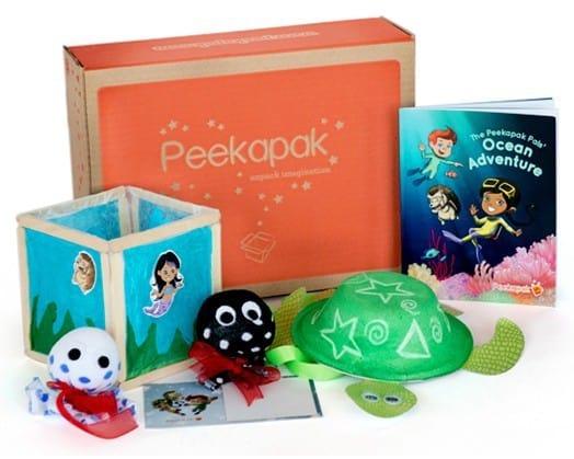 Peekapak Subscription Box for Kids