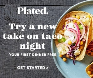 Plated Coupon - Free Dinner for 2 When You Join Plated
