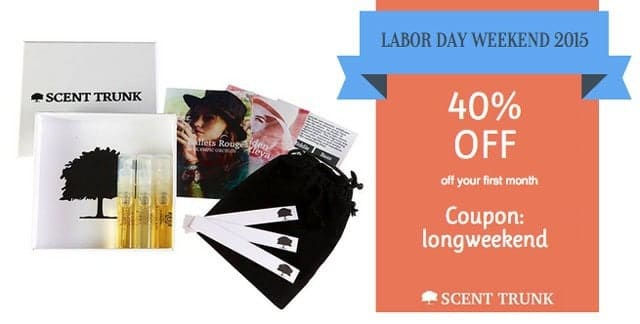 Scent Trunk 40% Off Coupon Code