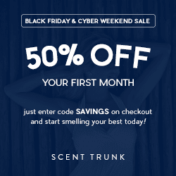 Scent Trunk Black Friday Sale - Save 50% Off Your 1st Scent Trunk