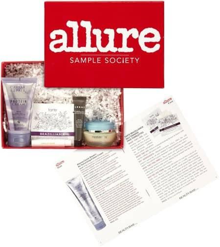 September 2014 Beauty Bar Allure Sample Society Box