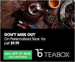 Teabox 50% Off