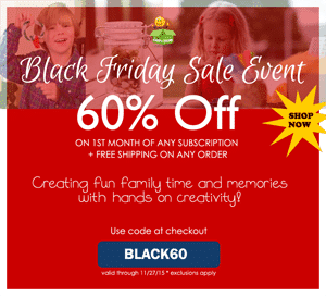 The Happy Trunk Black Friday - Save 60% Off Your 1st Month of The Happy Trunk