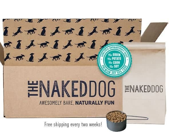The Naked Dog Box Dog Food Subscription Box