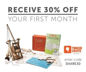 Tinker Crate Coupon - Save 30% Off Tinker Crate