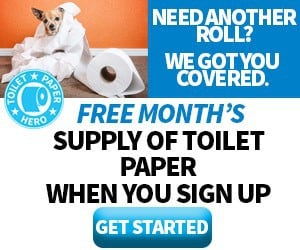 Free Box of Toilet Paper With New Toilet Paper Hero Subscriptions