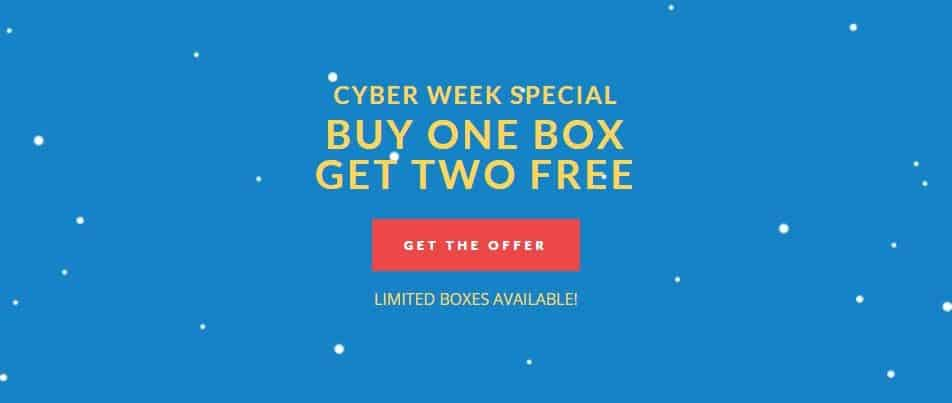 Try The World Cyber Week Special: Try The World 3 for 1 Sale