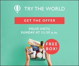 Try The World: Free Try The World Sweden Box