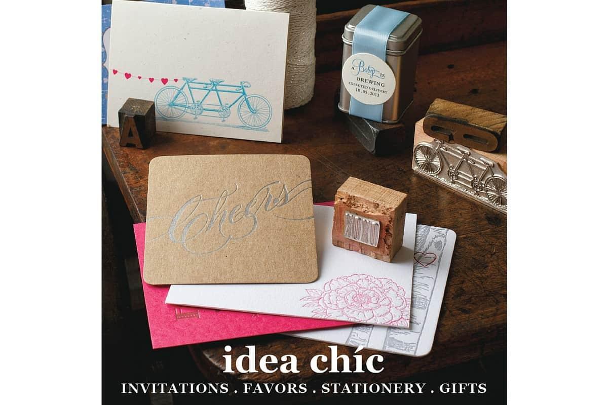 Idea Chíc Stationery Box