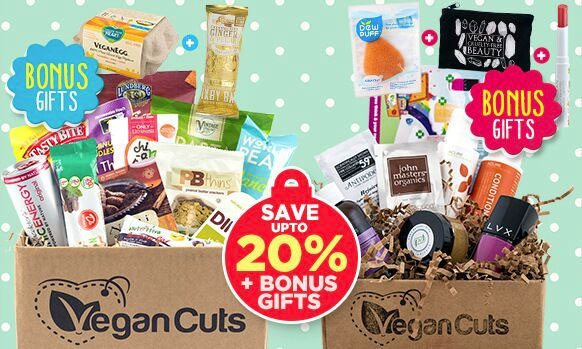 Vegan Cuts Cyber Monday Sale - Save up to 20% Off + Get FREE Bonus Gifts with Vegan Cuts