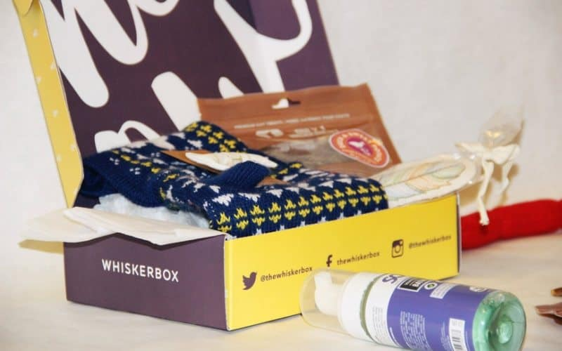 WhiskerBox Monthly Subscription Box for Cats