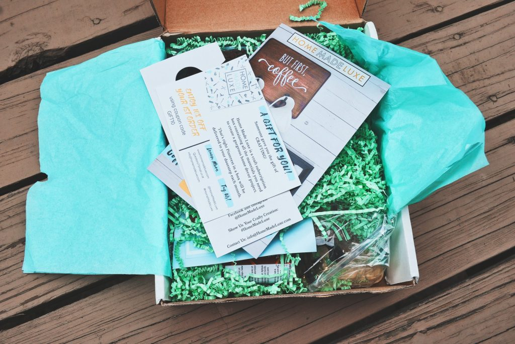 Home Made Luxe Review September 2018 Find Subscription Boxes