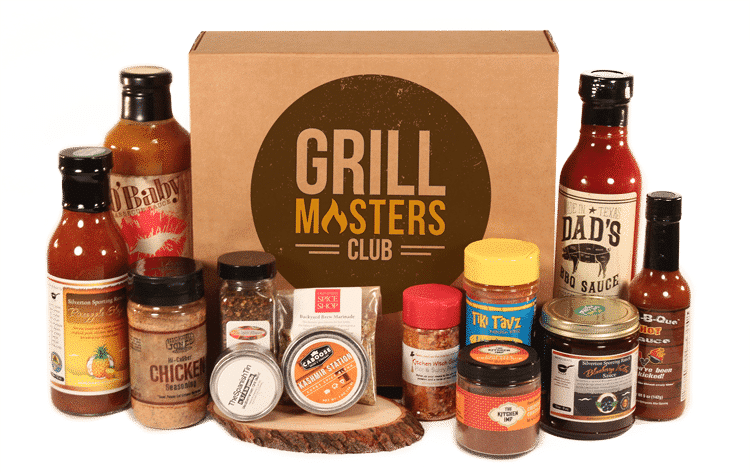 Grill Masters Club - Grilling Subscription Box