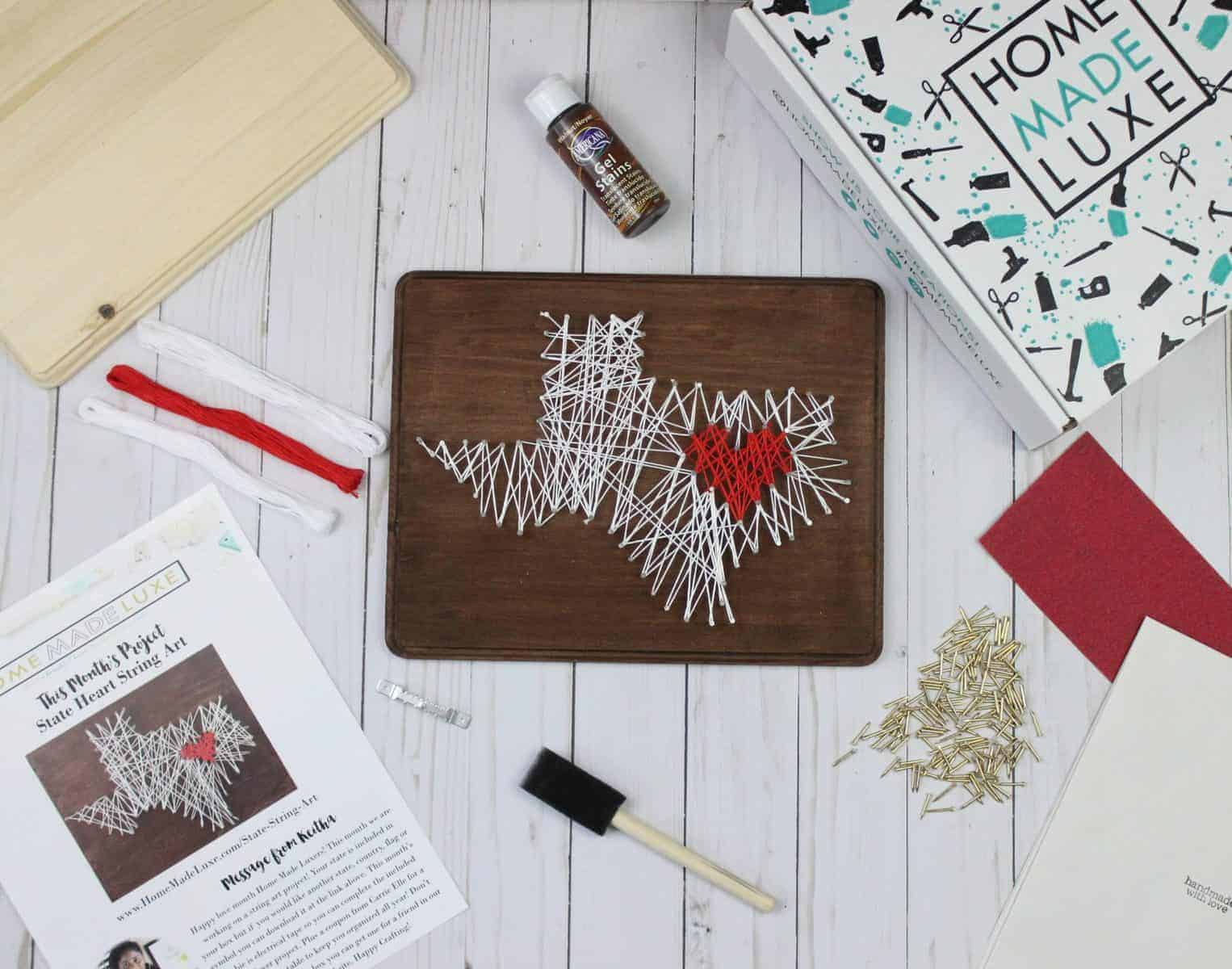 Home Made Luxe Pinterest Subscription Box