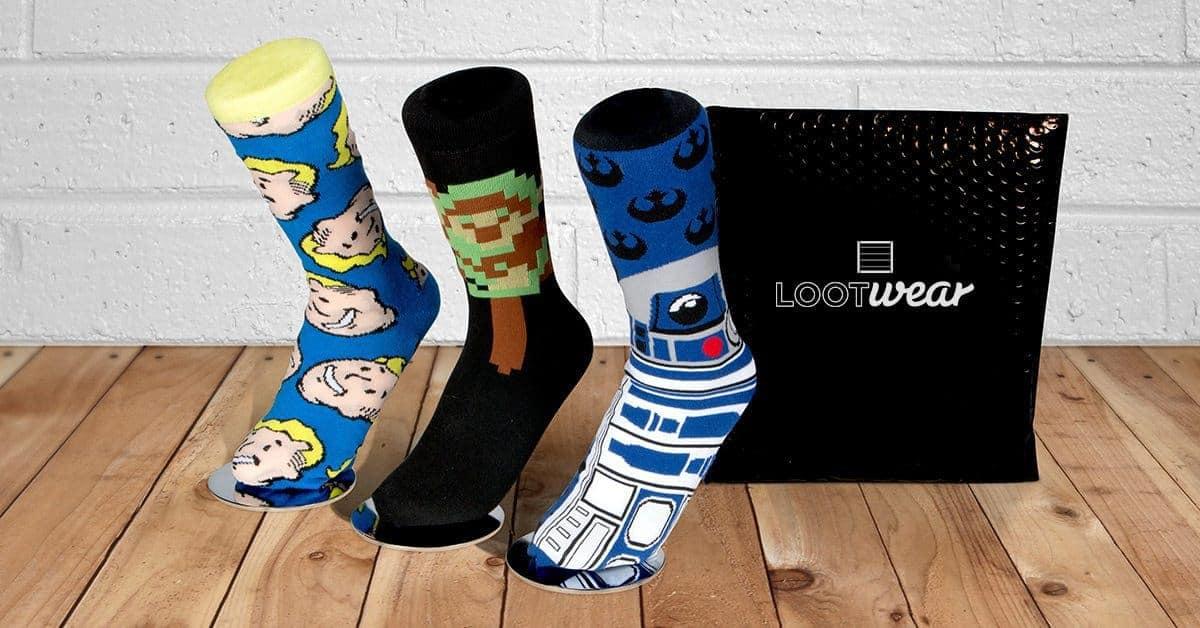 Loot Wear Loot Socks