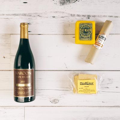 Wine Down Box Wine & Cheese Subscription Box