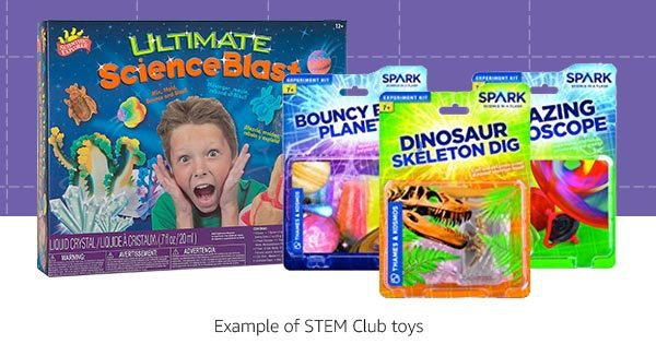 Amazon STEM Club