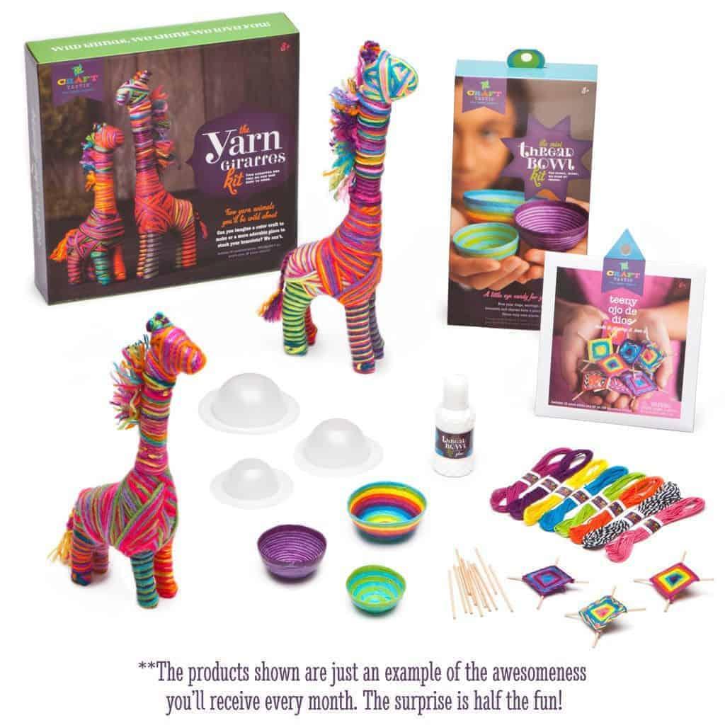 Ann Williams Monthly Craft Box