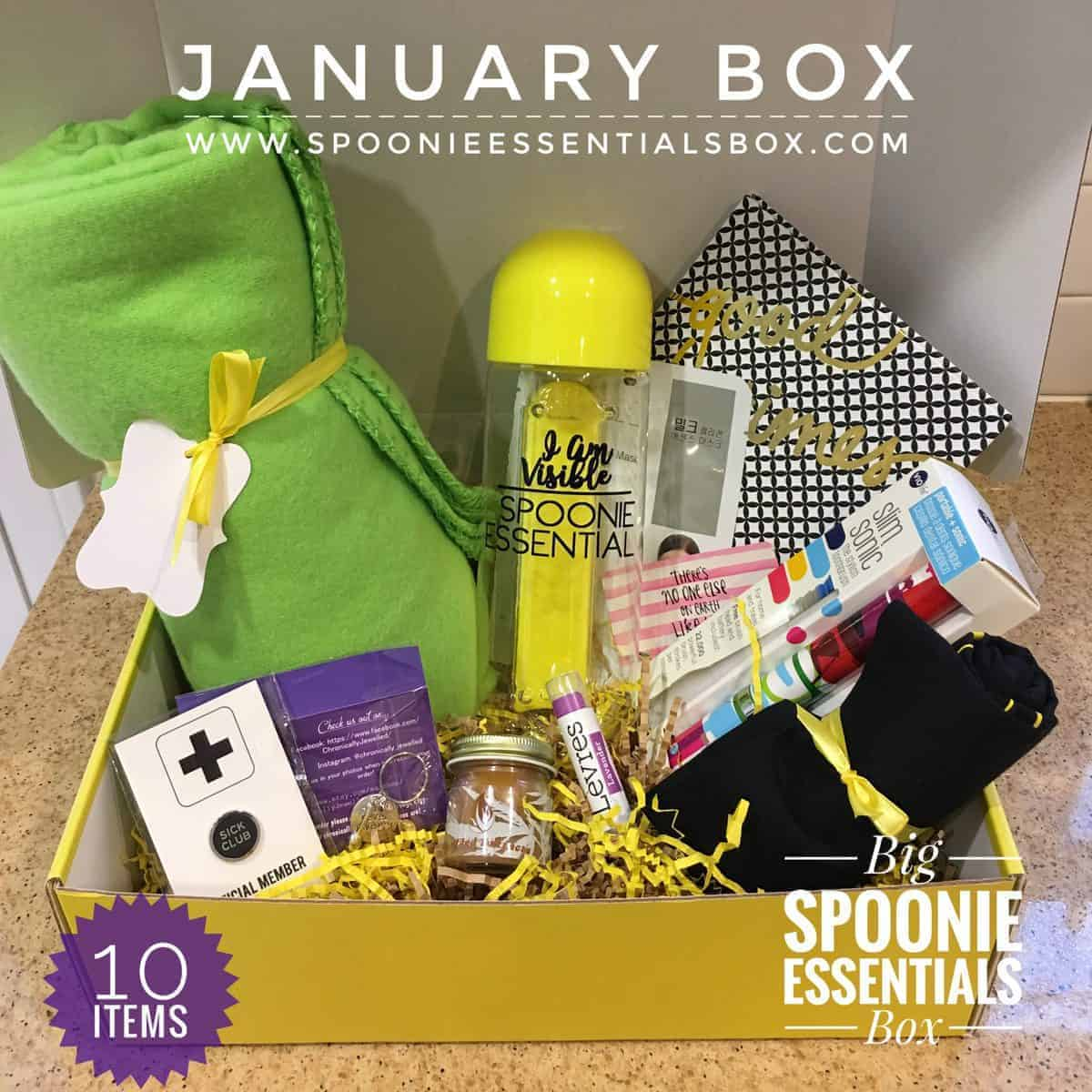 Spoonie Essentials Box