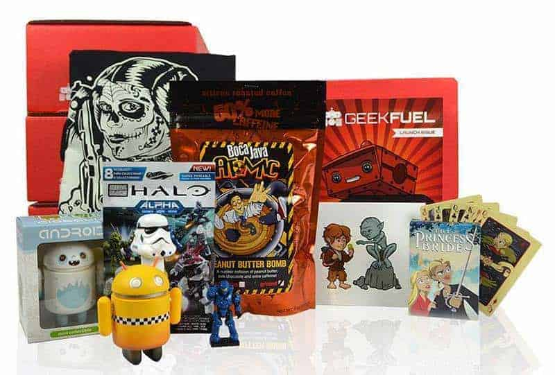 Geek Fuel Subscription Box for Geeks & Nerds