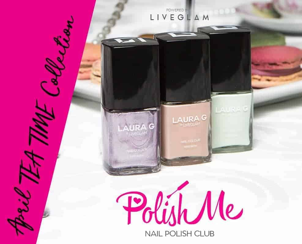 LiveGlam PolishMe Club Nail Polish Subscription Box