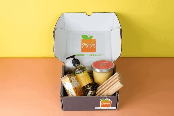 Orange Peel Box Aromatherapy Subscription