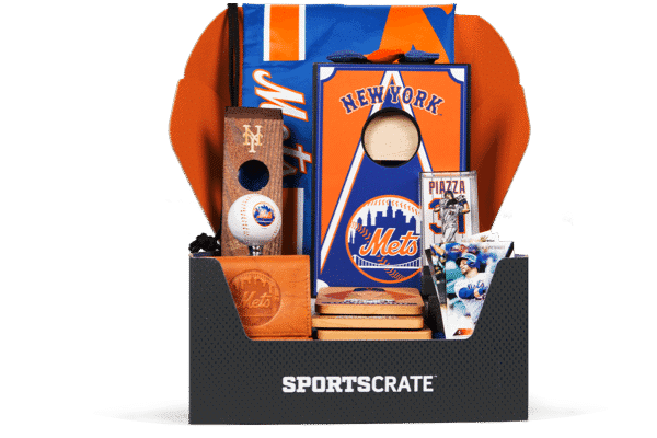 Sports Crate MLB Subscription Box NY Mets Crate