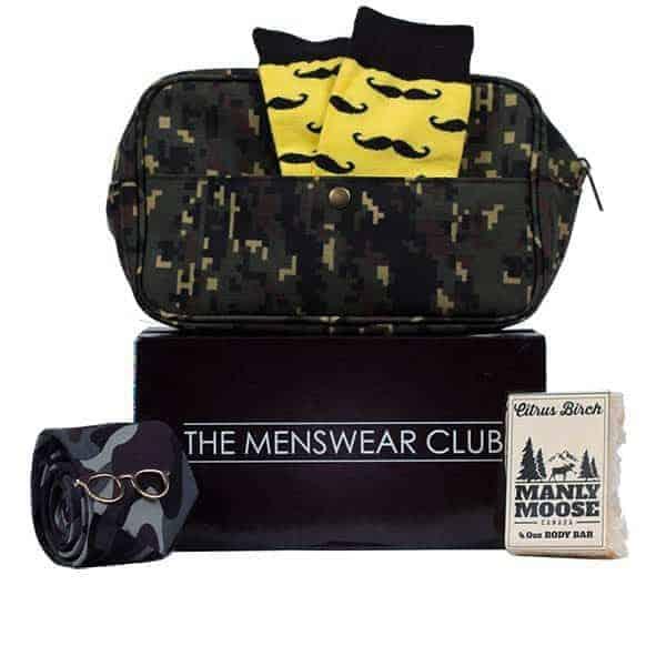 The Menswear Club Subscription Box