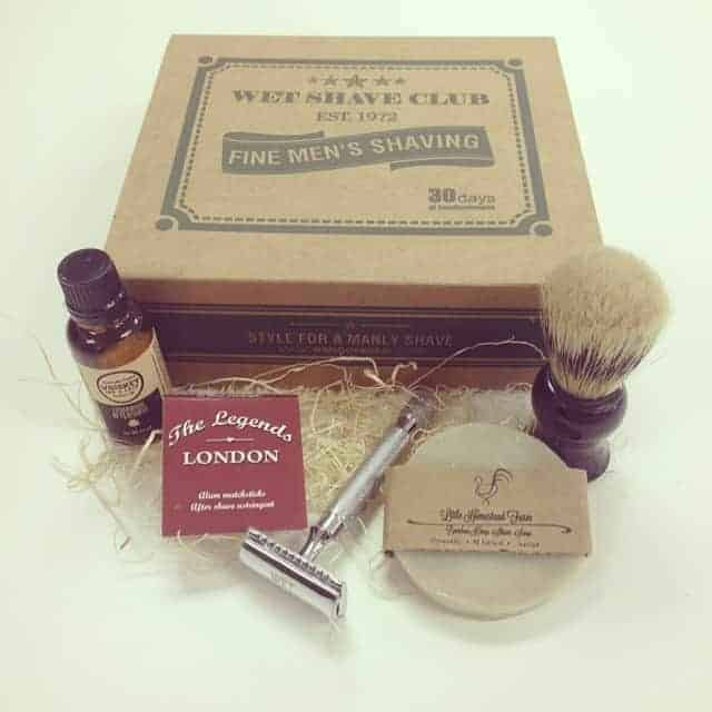Wet Shave Club Subscription Box